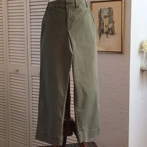 Old Navy cropped wide leg pants